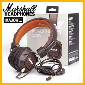Marshall Major II 2.0 Cuffie senza fili Bluetooth Cuffie DJ Cuffie con auricolari isolanti a basso rumore per iPhone Samsung Smart Phone