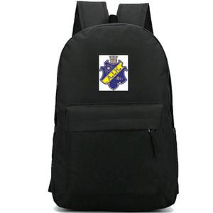 AIK Stockholm mochila Suécia jogo daypack equipe do clube de futebol mochila mochila Futebol crachá mochila Esporte bloco do dia ao ar livre
