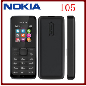 Original Nokia 105 FM Radio Good Quality Unlocked Mobile Phone Free shipping
