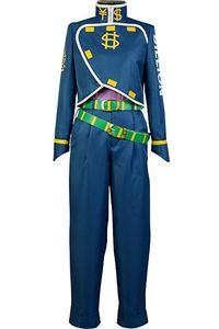 JoJo Bizarre Adventure Cosplay Okuyasu Nijimura Costume