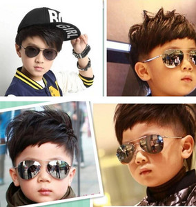 Crianças Sunglass Crianças Praia Óculos De Sol Das Crianças Acessórios de Moda Protetor Solar Eyewear bebê para meninos Meninas toldo crianças Óculos