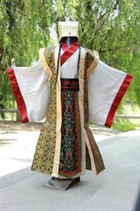 2018Le nouvel été kungfu uniformes chinois traditionnels hommes vêtements costumes tang dragon ancien empereur costumesTB