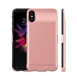2018 Новый аккумуляторный аккумулятор для iPhone X 5000 мАч iphone 7 8 Plus 6000 мАч Внешний сверхтонкий зарядное устройство Портативное зарядное устройство