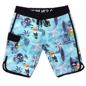 Elastan Spandex Çizgili Bermudas Şort Mens beachshorts Kurulu Şort Kurulu Pantolon Hızlı Kuru Surf Pantolon Mayo Yüzme bavulları Swimtrunks