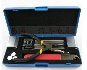 Herramienta profesional de desmontaje HUK Lock 12 en 1 especial para abrir y reparar el kit de herramientas de cerrajería del automóvil Quitar el candado Kit de selección de reparación