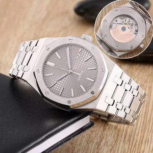Beste Qualität SSS Armbanduhr Royal Oak Art und Weise klassischen Edelstahl Automatik-Uhrwerk Männer Herren-Uhr-Uhren