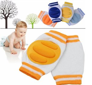 Nouveau-né bébé genouillères filles rose Genouillères confortable coton respirant éponge enfant apprendre à marcher meilleure protection