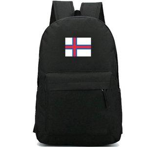 Faroe rucksack Rot blau kreuz flagge daypack Islands national schultasche Land banner rucksack Sport Schultasche Outdoor-Tagesrucksack