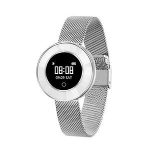 Microwear X6 Akıllı Bant kadınlar Kalp hızı Adımsayar IP68 Su geçirmez Akıllı Bilezik 40Long bekleme Bluetooth bildirim