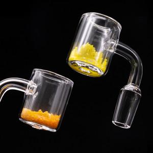 Популярный термохромный кварц Banger Double Banger 2 мм толщиной 10 мм 14 мм 18 мм мужской женский кварцевый браслетный гвозди для стеклянного бонга
