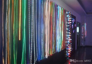LED 5050RGB Cinto Da Lâmpada 12 V À Prova de Água Fita Fita Jóias Armário Tira Barra de Luz Suave Festa Em Casa Ao Ar Livre Decoração Da Árvore 5 5gz2 ii