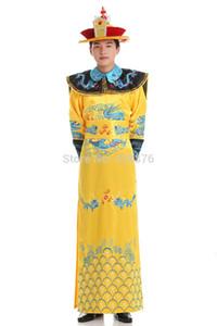 Chinese Folk Dance Kostüm xiqu Kleidung Tang Anzug nationalen Kostüm Kleidung Kaiser Prince Show Cosplay Anzug Robe