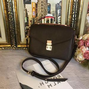 Envío gratis mujeres de alta calidad bolso de mensajero de cuero de las mujeres pochette bolsos de hombro Metis crossbody bolsas M40780