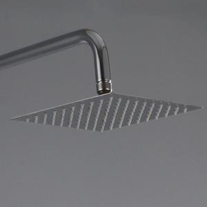 Prático Copper Shower Faucet Set Chuveiro Válvula de Mistura de Pressão de Aço Inoxidável Impulsionar Bico Flor Fácil de Transportar 97 hc cc