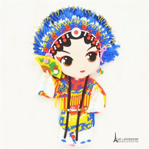 Trasporto libero Cina Opera di pechino Traditonal Oriental Magneti Frigo Gomma Souvenir Turistici decorazione della casa rifornimenti del partito regali