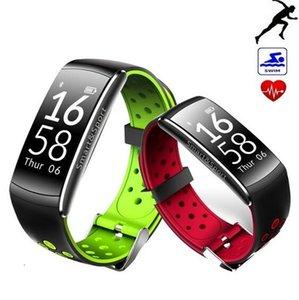 Q8 Smart band IP67 водонепроницаемый смарт-браслет сердечного ритма фитнес-трекер смарт-браслет носимых устройств часы для IOS Android