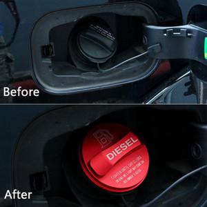 Aluminum Alloy Diesel Fuel Tank Cap-Abdeckungs-Ordnung für Land Rover Discovery 4 LR4 2010-16 / Range Rover Velar 2017