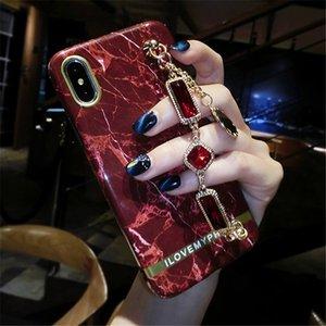 iphone7 7Plus 8Plus 6 6Splus X 대리석 케이스 뒤 표지 패션 소녀 스타일 전화 케이스 커버