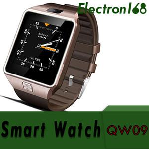 50X SMARCENT 3G WIFI QW09 Android Smart Watch 512 MB 4 GB Bluetooth 4.0 Real-Pedometro SIM Card Chiamata Smartwatch anti-perso PK DZ09 GT08 DHL
