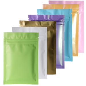 멀티 컬러 Resealable 우편 Mylar 가방 식품 저장 알루미늄 호일 가방 플라스틱 포장 가방 냄새 증거 주머니