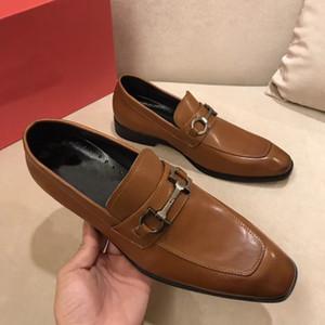 Männer Kleid Schuhe Designer Formal Herren Echtes Leder Marke Hochzeit Schuhe Männer Wohnungen Büro Business Oxfords Größe 38-44