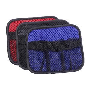 Universale 1 Pz Auto Car Rear Trunk Sedile Posteriore Elastico String Net Mesh Storage Bag Tasca Gabbia Sacchetto Di Immagazzinaggio Tasca Gabbia Mesh 12x14 CM