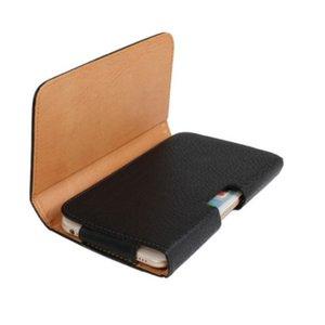 샤프 아쿠아 S3 범용 벨트 클립 PU 가죽 허리 홀더 플립 파우치 케이스 Sharp Aquos S3