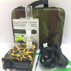 Pas cher E Nail DAB ENAIL Kit Portable Électrique Nail Pen Rig cire pid TC Boîte avec Ti Titane Quartz Domeless Bobine Chauffe