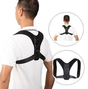 Ajustável Correção Voltar Posture Corrector Clavícula Shoulder Belt Brace Upper Back Posture Correção Corset Spine Belt Suporte
