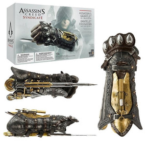 Assassins Creed Wristlet Sleeve Swords Plastic Wristband Toy Gauntlet Cospaly