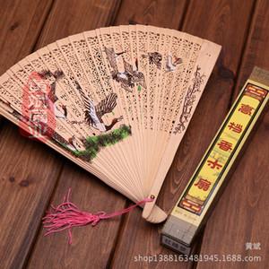 Neue hölzerne Hand Fans Portable Lady Hochzeit handgemachte Falten Fans Großhandel billig Hand Fans