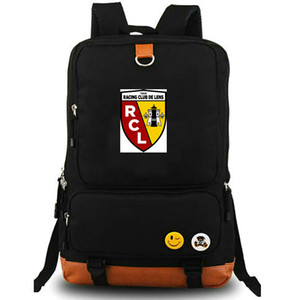RC Lens rucksack RCL daypack les Sang et Or Football club computer interlayer schoolbag Soccer day pack Sport school bag Outdoor backpack