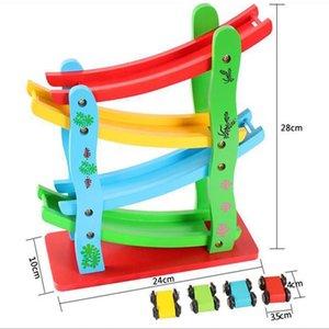 Click Clack Racetrack Voiture en bois pour enfants Slider Race Track Run Toy Spare Car livraison gratuite