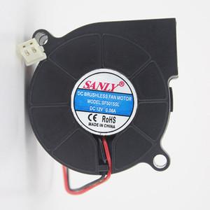 Бесплатная доставка SANLY SF5015SL 12В 0.06 сервер вентилятор охлаждения 5см 50x50x15mm 5015 воздуходувки