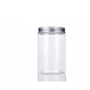 Frasco transparente de 20pcs 300ml com a tampa selada do parafuso, frascos de biscoito claros, recipiente grande do tamanho 300G