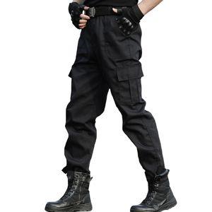 Tactical Trousers Cargo Pants Männer Arbeitskleidung Homme Special Forces SWAT Army Kampfhose Günstige schwarze Hose dünn
