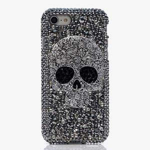 Donne Punk Skull bling diamante fatto a mano caso della copertura posteriore per MeiZu M3 Note Pro 6 MX6 M3 M5 M5S M3 Mini M5 Nota casi strass