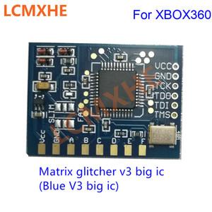 مصفوفة glitcher v3 مع كبير جيم الطبعة كورونا رقاقة مع 48 ميجا هرتز كريستال المذبذب ل xbox360 إصلاح جودة عالية شحن مجاني