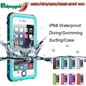 Funda impermeable Redpepper para Iphone Xs Max XR 8 7 6 6S Plus Samsung Galaxy Note 8 S6 s7 edge s8 Cubierta a prueba de golpes