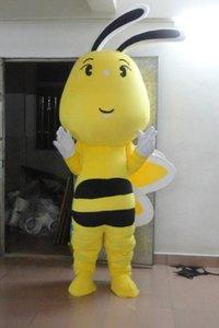 Costume della mascotte dell'ape Bella piccola Vespa Cospaly personaggio dei cartoni animati per adulti Halloween costume in costume di Carnevale