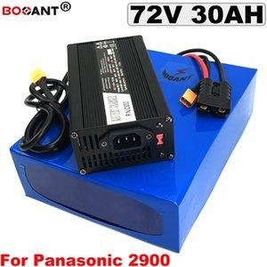 Batería de litio recargable E-bike 72V 30AH Scooter eléctrico Batería de iones de litio 72V 1500W 3000W con cargador 5A Envío gratis