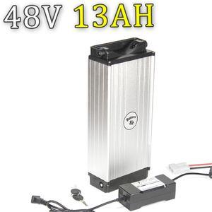 Высокое качество Samsung Ebike 48v 750w задняя стойка батарейный блок 48v 13ah литий-ионный аккумулятор Bafang с зарядным устройством