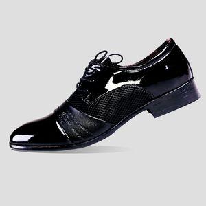 chaussures formelles noires pour hommes chaussures en cuir verni pour hommes coiffeur robe brune hommes élégants chaussures classiques zapato hombre formal rugan ayakkab