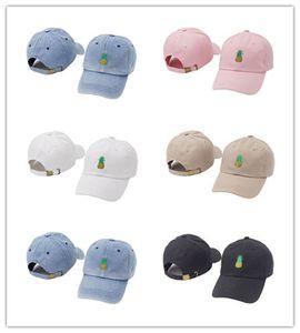 Cappelli di Hip Hop della nuova cupola di arrivo per il cappuccio di novità del cappuccio di baseball del modello regolabile dell'ananas di Casquette dell'ombra di Sun di estate