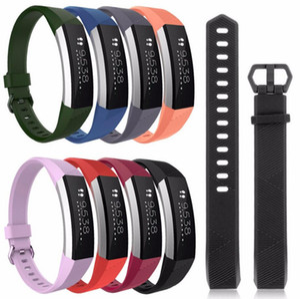 جودة عالية لينة سيليكون آمن الفرقة قابل للتعديل ل Fitbit ألتا HR الفرقة معصمه حزام سوار ووتش استبدال الملحقات