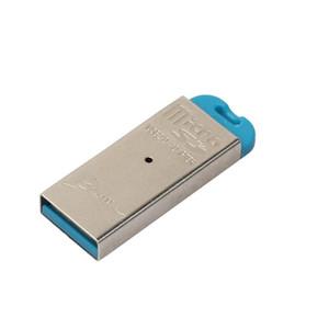 Nuevo lector de tarjetas de alta velocidad Mini USB 2.0 Micro SD TF T-Flash Lector de tarjetas de memoria Adaptador accesorios del ordenador portátil