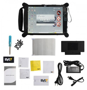 Novo Controlador de Diagnóstico EVG7 DL46 / HDD500GB / DDR8GB Tablet PC bem instalado com MB Star C4 SD C5 software Connect 05 / 2018V