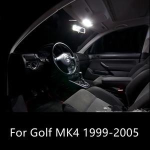 Shinman 11шт авто LED интерьер лампа LED свет пакет комплект для VW гольф Mk4 1999-2005 лампа для чтения свет интерьера автомобиля аксессуары