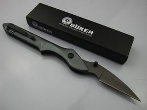 보르 343 스카이 버드 멀티 도구 야외 사냥 포켓 접는 나이프 전술 상당 56HRC 440 알루미늄 핸들 1PCS Adcu