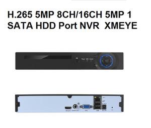 Простой операции, новейший H. 265 в экологически ONVIF 16-канальный сетевой видеорегистратор, 5МП,1 канал аудио,выход VGAHDMI,процессор His3536D для безопасности CCTV IP-камера,обнаружения движения,видео толчок